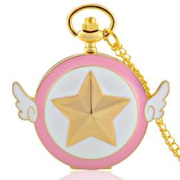 розовые золотые подвески Скидка Gold And Pink Theme Full Hunter Quartz Engraved Fob Retro Pendant Pocket Watch Chain Gift