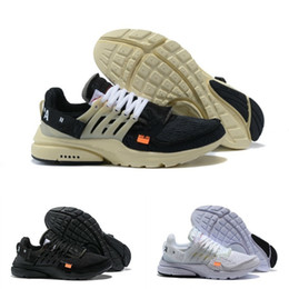 spring winter sneakers Promo Codes - 2019 New Presto V2 BR TP QS Black White X Running Shoes Cheap The 10 Air Cushion Prestos Sports Women Men off Trainer Sneakers