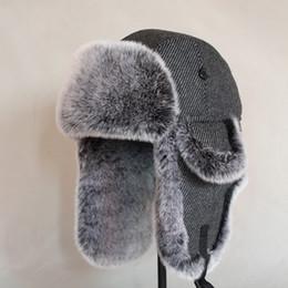 Women/'S Men/'S Winter Warm Fur Catcher Cavalry Cap Russia Earflap Ski Cap