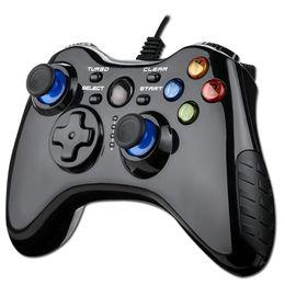 control para xbox Rebajas 100% nuevo Mini USB 2.0 con cable controlador Gamepad para PC Android PS3 Control Xbox One