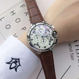 Reloj натуральная кожа онлайн-Высокое качество дизайнер роскошные мужские часы из натуральной кожи кварцевые часы элегантные наручные часы часы для мужчин Reloj Hombre 2018 бесплатная доставка