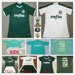 Futbol blanco verde online-19 20 camiseta de fútbol Palmeiras casa Fuera Camiseta Verde Blanco DUDO G.JESUS JEAN disparo de ALECSANDRO B.HENRIQUE ALLIONE Cleiton personalizada para adultos Niños de fútbol