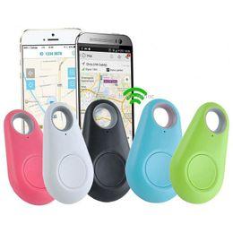 sensori di allarme per animali domestici Sconti Smart Key Localizzatore GPS Finder Anti perso Sensore Animali Tracker GPS Allarme per portafoglio Auto Bambini Bambino Borsa Phone Locator con pacchetto