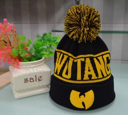 562c119c5c0 Wholesale high quality WuTang Beanies New Fashion Winter WU TANG CLAN For  Women Men Hiphop Knitted Hats Wool Caps