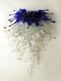 2019 buntglas anhänger beleuchtung Italienischen Stil Chihuly Murano Platten mundgeblasenem Glas Wandleuchte Wanddekoration schöne Bernstein Glas Pendelleuchte elegante Tiffany gebeizt günstig buntglas anhänger beleuchtung