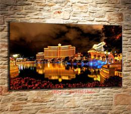 Luz de pintura a óleo on-line-Luz do lago, Pintura em tela Sala de estar Decoração de casa Modern Mural Art Oil Painting