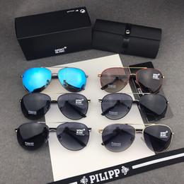 6aaeb8f87b gafas de sol hombre Rebajas Hombres Nuevo Diseñador MONTBLANCg8452 Moda  Cool Gafas de sol polarizadas Hipster