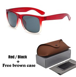 shield leather Coupons - High quality Sunglasses Men Women Brand Designer Plank frame Sun glasses Flash Mirror Lenses with Leather with brown cases and box
