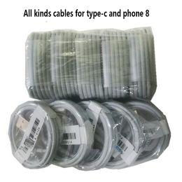 Samsung cable blanco online-1M 3ft 1.2M cables de carga rápida cable de carga del cable de datos usb de sincronización con 144 cables de carga rápida tipo C cable negro blanco para S8 S10