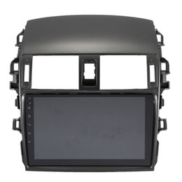 radio di camry toyota Sconti Autoradio con lettore specchio link Autoradio 2 DIN per il Corolla E140 / 150 2008 2009 2010 2011 2012 2013 Auto Stereo telecamera posteriore dvd