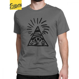 Signo de mariposas online-Signo Illuminati de los hombres Antes de la tormenta La vida es extraña Camisetas Butterfly Max Juego Ropa de algodón Camisetas de manga corta Camisetas de regalo