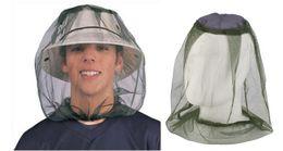 2019 mascara de insecto Mujeres Hombres Sombrilla Al Aire Libre Anti-mosquito Abeja Insecto Pesca Camping Máscara Neta Pesca Pesca Máscara Que Protege la Cara Cubierta mascara de insecto baratos