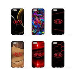 Marcas de cajas del teléfono de corea online-Kia Logo Korean Car Brands Funda de teléfono rígida para Apple iPhone X XR XS MAX 4 4S 5 5S 5C SE 6 6S 7 8 Plus ipod touch 4 5 6