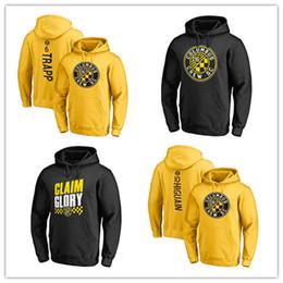 Hombres con capucha amarilla online-# 10 Higuain # 6 trapp Yellow 18 19 MLS Hoodies de fútbol para hombre outwear chaquetas hoody de fútbol Abrigos negros Envío gratuito logotipos impresos