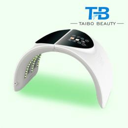 Óleo de máquina leve on-line-Venda quente PDT LED light home spa uso spa remoção acne, branqueamento, controle de óleo máquina de tratamento de beleza