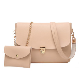 Денежные цепочки онлайн-Fashion chain oblique carry women PU leather shoulder bag small crossover bag single shoulder money bun Mother #Zer
