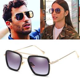 2019 óculos de sol dos homens de marca de marca de moda óculos de sol moda venda quente de