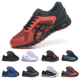 outlet store 76158 4aae4 2019 New Shift Stabilität Laufschuhe T728N Gel-Quantum Herren Laufschuhe  Triple Weiß Schwarz Orange Designer Sneakers Trainer Größe 41-45 sneakers  gel ...