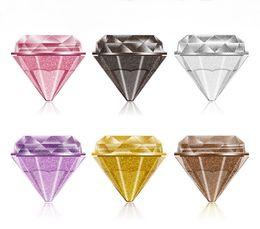 Ombretto di glitter per gel online-Nuovo trucco Diamond Eyeshadow Single Glitter Cream Eye Shadow Brighten Shimmer Eye Shadow e Body Gel 6 colori 5g
