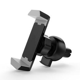 Nuevo soporte para teléfono para auto para iPhone X Xs Máx. 8 Xr Soporte de ventilación de aire móvil de 360 grados Soporte caliente en automóvil desde fabricantes