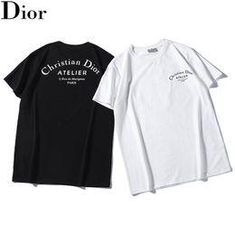 immagini luminose Sconti Mens Designer Brand Summer T Shirt Casual Mens Loose Tees Stampa Girocollo maniche corte Top Sell Luxury Mens T Shirt Taglia S-2XL