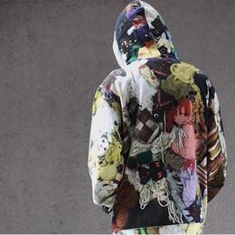 Jouet d'amour en Ligne-18FW Mike Kelley Love Box Logo Jouets Sweat À Capuche Hommes Femmes Outfit Mode Casual Rue Outwear Hoodies Mens Designer De Luxe Remise