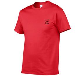 Deutschland Designer Shirt neue 2019 Herren Sommer T-Shirt Größe kurzärmeliges T-Shirt Milch Druck Baumwolle T-Shirt 3D Designerkleidung XS-2XXL Golf cheap golf t shirts for men Versorgung