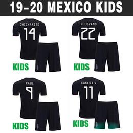 f617965d56 2019 gioventù del calcio del mexico 2019 Messico Maglia da calcio per  bambini Mexico Gold Cup