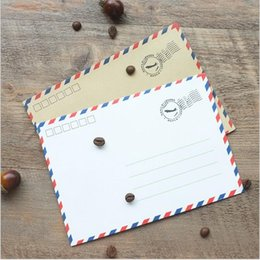 2019 cartas de sobres 20pcs / lot Retro Business Envelope Letters Papers Saludo Deseos Postal cartas de sobres baratos