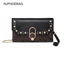 3d040356bd712 2019 schwarze orange handtasche HJPHOEBAG Casual Kleine Tasche für Frauen  Messenger Bags für Frauen Umhängetaschen Crossbody