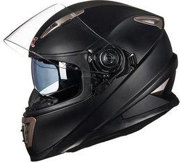 Fechaduras de capacete on-line-Lente dupla capacete da motocicleta rosto cheio com sistema de bloqueio Sheld GXT 999 moto capacete moto casco