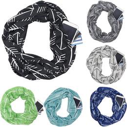 перья шарф белый Скидка 2018 новый кабриолет бесконечность шарф женщины геометрический принт карман на молнии карманные шарфы зима теплая шаль нагрудные шарфы подарок