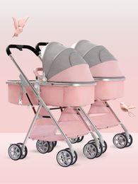 passeggino leggero piegato Sconti passeggini singoli possono sedersi e sdraiarsi paesaggio di alta luce bambino e facile da piegare passeggino doppio libero la corrispondenza dei colori libera