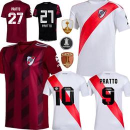 Assiettes en Ligne-Hommes + 20 enfants 2019 rivière maison jersey PLATE football loin Scocco 32 CASCO 20 maillots de football camisa de futebol CONMEBOL Libertadores