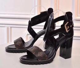 дизайн печати для дам Скидка new221 hi-top женщины zzllxx Париж llLuxury дизайн лето высокий каблук сандалии пляж слайд тапочки Леди печати кожа сплошной цвет