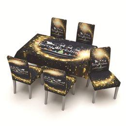 Phenomenal Wholesale 2020 New Year Christmas Style Digital Print Chair Cover Tablecloth Restaurant Hotel Use Christmas Decorations For Home Creativecarmelina Interior Chair Design Creativecarmelinacom
