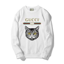 rosa graue sweatshirts Rabatt GUCCI New HIP HOP Pullover Luxus Pullover für Männer Frauen Hoodie klassischen Stil Pullover Straße Sweatshirt Rosa, Weiß, Grau # 95615