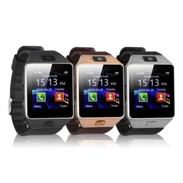 недорогой слот телефон Скидка Горячие Продажи DZ09 Смарт Часы Dz09 Часы Браслет Android Часы Смарт SIM Интеллектуальный Мобильный Телефон Состояние Сна Смарт часы