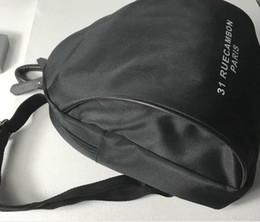 nuovi cosmetici di marca Sconti Nuovo 2019 classico marchio C simbolo nero Zaino Moda Donna Retro Zaino Zaini sportivi esterni Sacchetto cosmetico Regalo di nozze Regalo VIP 3024