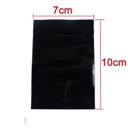 мини мешочки Скидка 100 шт. / Упак. Черный Мини Zip-Lock Baggies Пластиковые Мешки для Упаковки маленький Пластиковый мешок на молнии ziplock Упаковка Сумки для Хранения