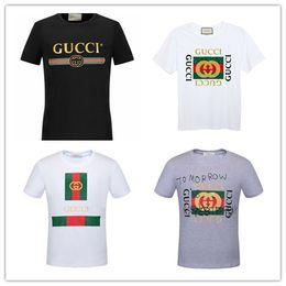 camisetas para mujer Rebajas Diseñador de la marca de moda de impresión camisetas para hombre mujer manga corta Mans algodón Poloshirts Homens camisetas casuales transpirable Womans Tee