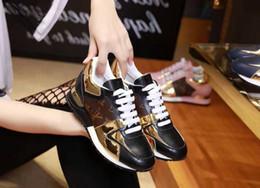 duping520 2018 Nueva marca francesa Instagram Ocio Casual Shoes Run Away Zapatillas de deporte Zapatillas de deporte para hombres Mujeres Oferta desde fabricantes