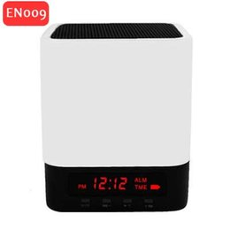 En gros au détail 350 mAh Alimentation Table Lampe Horloge Alarme Affichage LED Portable Mini Sans Fil Bluetooth Haut-Parleur EN009 ? partir de fabricateur