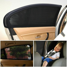 car window shading Promo Codes - 2 x Car Rear Side Window Sun Visor Shade Mesh Cover Shield Sunshade UV Protector