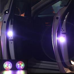 2 St/ück Auto T/ür Anti Kollisions Magnetische Induktion LED-Licht Strobe-Lampe Wasserdichte T/ür offen Warnleuchte