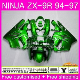 KAWASAKI NINJA Için Zımpara ZX 9R ZX900 ZX-9R 94 95 96 97 Kiti 69HM.0 ZX 9 R 94 97 900CC ZX9R 1994 1995 1996 1997 Tam Kaporta Parlak yeşil sıcak supplier kawasaki ninja zx9r fairings 97 nereden kawasaki ninja zx9r fairings 97 tedarikçiler