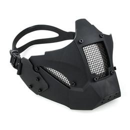 AR 15 Accessori airsoft accessori paintball tattici da caccia uomo protettivo mezza maschera JAY FAST MASK per tiro casco AF da maschera per freddo fornitori