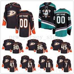 efa04067014 Custom Anaheim Ducks Hockey Jerseys 20 Pontus Aberg 7 Andrew Cogliano 21  Jake Dotchin 18 Patrick Eaves 23 Brian Gibbons Cam Fowler Jerseys anaheim  ducks ...