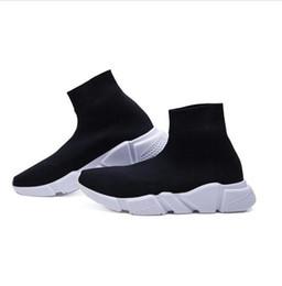 Mismos zapatos online-Calzado casual elástico de 2018 hombres y mujeres con la misma pareja zapatos ligeros