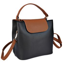 Blocco di colore della borsa online-Borse a tracolla piccola borsa a tracolla per donne con tracolla portafogli in pelle a forma di borsa a spalla color block